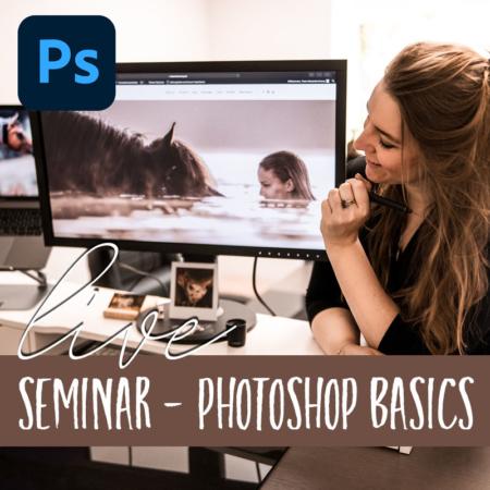 OnlineSeminar Photoshop Basics von Alexandra Evang Photographie