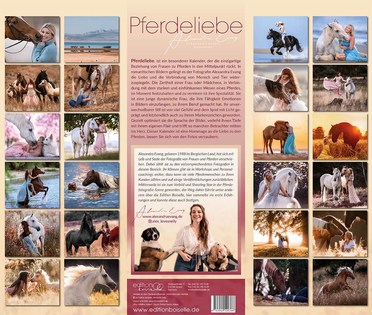 Pferdeliebe Kalender 2021 Alexandra Evang - Edition Boiselle